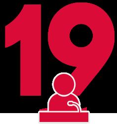 19 participations