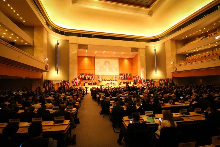Négociations de haut niveau à la Conférence internationale du Travail