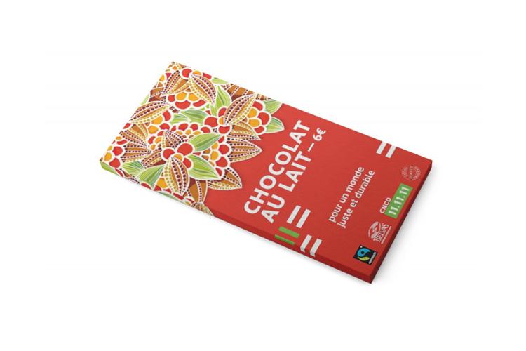 Tablette de chocolat au lait (6 €)