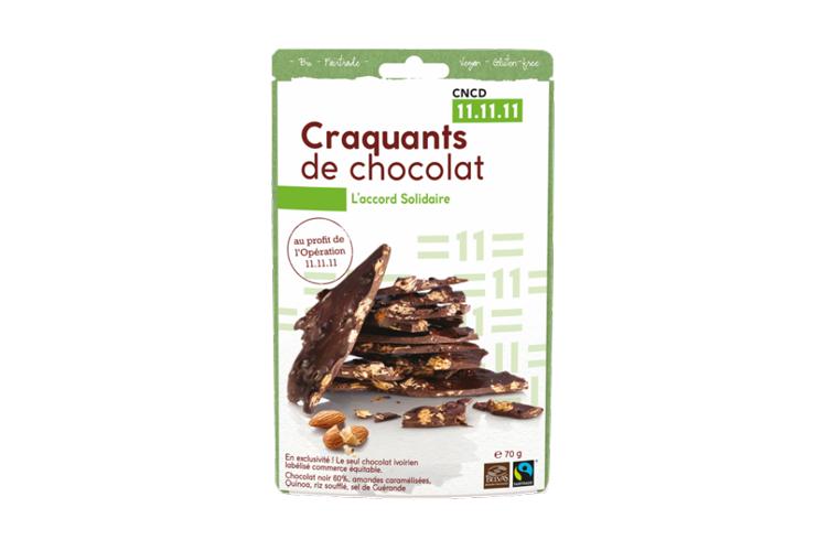 Craquants de chocolat (5,50 €)